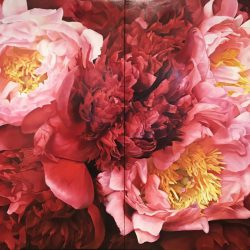 The Bloom Sisters - Oil on linen -146x178cm - diptych