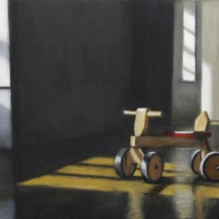THE WOODEN SCOOTER